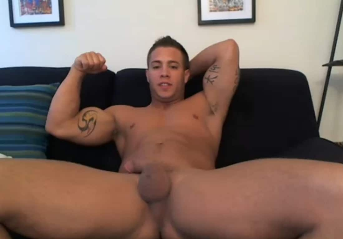 Straight Muscle Boy
