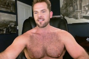 Hairy Muscle Man