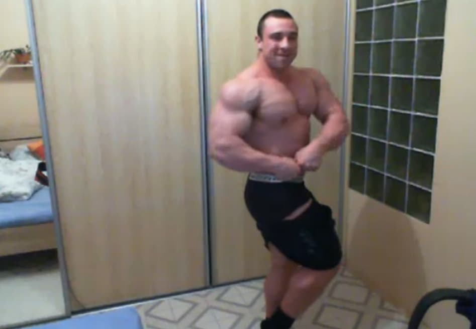 Bodybuilder Gay Cam