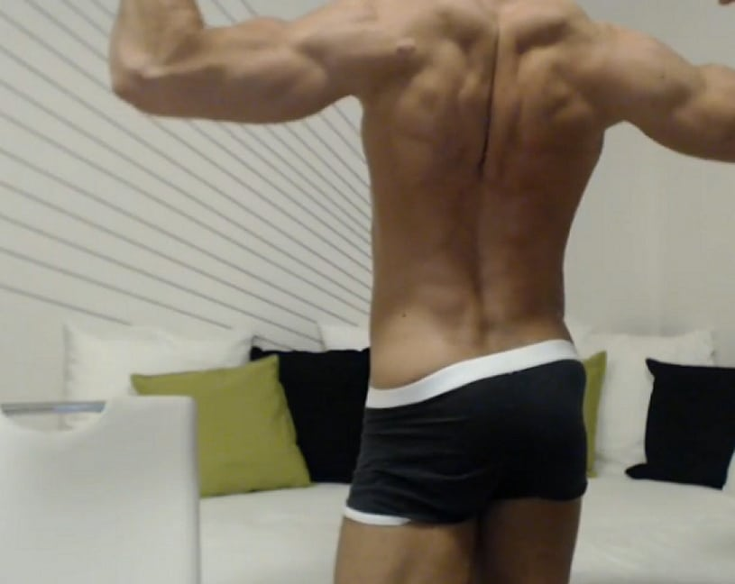 Muscle Boy With A Hot Body